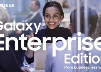 """ซัมซุงเปิดตัว """"Galaxy Enterprise Edition"""" ครั้งแรกในไทย"""